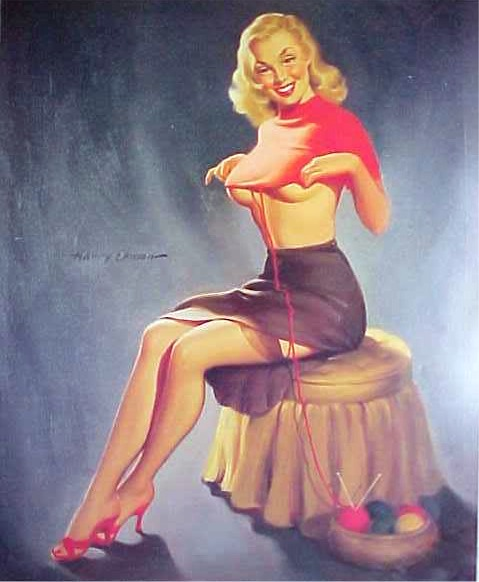 Pin up par Harry Ekman